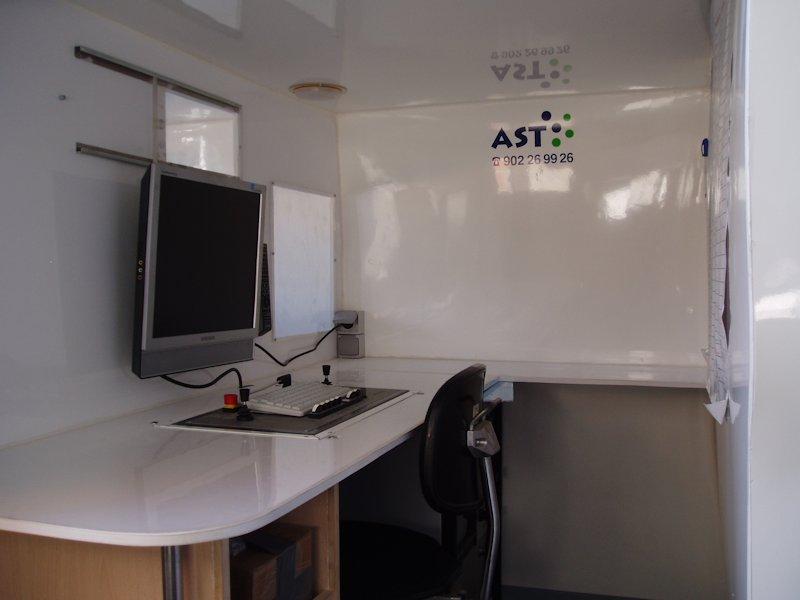 Robot Fresador CCTV