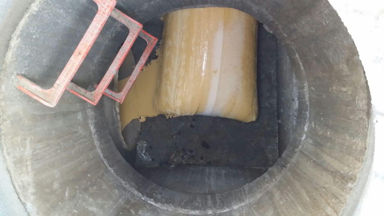 Encamisado de tubería con manga continua