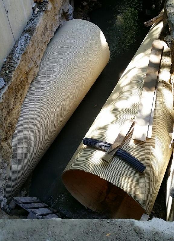 Perfil PVC hasta DN 2500 mm